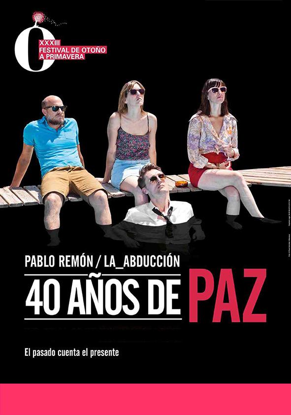 Cartel 40 años de paz