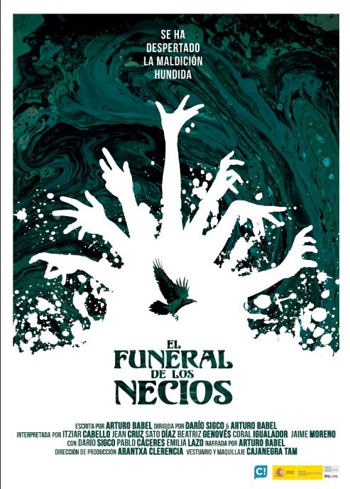 Cartel del funeral de los necios